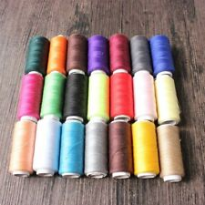 NEW Sewing Thread 20 Hot Colors 200 Yards Hilos Polyester Thread Reels 200m Cone