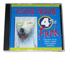 CD: George Clinton Family Series Vol. 4: Testing Positive 4 The Funk (1993, AEM)