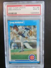 1987 Fleer Update Greg Maddux Chicago Cubs #68 Baseball Card