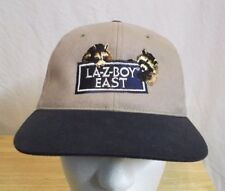 Vtg La-Z-Boy East Strapback Employee Hat Cap Lazy Boy Recliner Chair Man Cave
