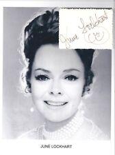 June Lockhart Autograph Mom Lassie Lost in Space Janet Craig Petticoat Junction