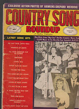 Country Song Roundup May 1961 Hawkshaw Hawkins Jean Shepard Webb Pierce