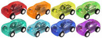 6 Pull Back Cars - 5cm - Toy Loot/Party Bag Fillers Wedding/Kids