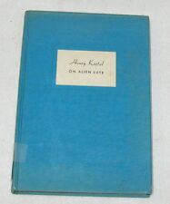 On Alien Lute by Henry Kartal - First Edition - Signed (A-3)
