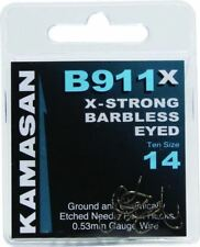 Kamasan B911 X-Strong Hooks - Eyed - Barbless