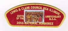 JSP - LEWIS & CLARK COUNCIL - 2010 NATIONAL JAMBOREE - RED - BSA 2010 BACK