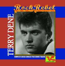 TERRY DENE - ROCK REBEL Complete As and Bs/EP - 1958-63