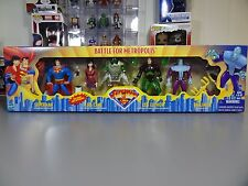 Superman Animated Series 4 Pack Battle for Metropolis