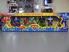 Superman Animated Series 4 Pack Battle for Metropolis