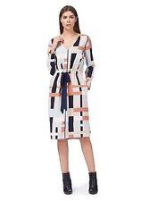 Debenhams J By Jasper Conran Multi-print Knee Length Tunic Dress - 12 - BNWT £69