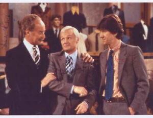 Frank Thornton, John Inman & Mike Berry - Actors - Signed Photo - COA (14859)