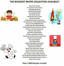 The Largest Recipe Collection Available!