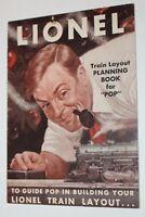 Lionel Train Layout Planning Booklet For Pop Vintage