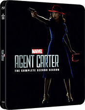 Marvel's Agent Carter Season 2 Limited Edition Steelbook Blu-ray New Region Free