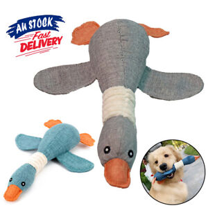 Pet Chew Toy Sound Squeak Indestructible Stuffed Squeaky Dog Interactive Xmas