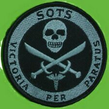 COLOMBIA SP OPS TEAM SOTS Victoria per Paratus Ready for Victory SKULL PATCH