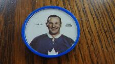 Rare 1968-69 Shirriff Hockey Coin John Bower! Vintage, Plastic