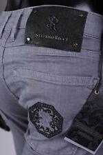 Brand new 549£ Men's Stefano Ricci Jeans,Gray ,W32