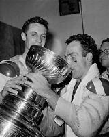 Henri Richard, Jean Beliveau Montreal Canadiens 8x10 Photo