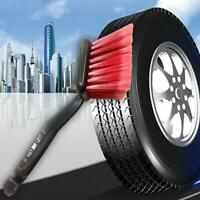Plastic Car Wheel Brush Tire Cleaner with Handle Detailing Motorcycle Cleaning