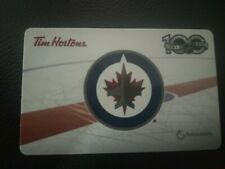 Tim Horton's -2017 Winnipeg Jets - Collectible Gift Card