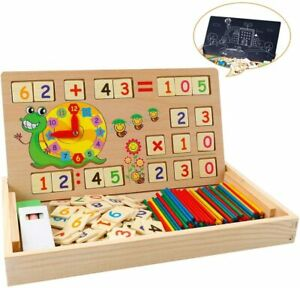 Educational Toys for Children-Wooden Toy Learning Box -Baby Montessori Toy Math