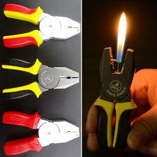 1X Cool Wire Cutters Design Light Jet Flame Windproof Cigarette Cigar Lighter FQ
