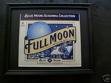 FULL MOON    BEER SIGN   #569