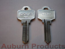 NA6 / NA25 NP NATIONAL LOCK KEY BLANK / 50 KEY BLANKS / FREE SHIPPING