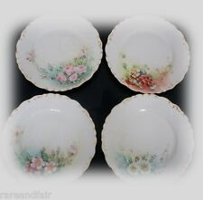 Bawo and Dotter Limoges set of eight hp plates - 1900 FREE SHIPPING