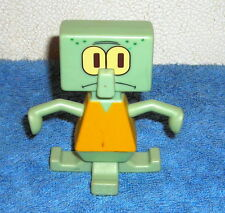 "SPONGEBOB SQUAREPANTS SQUIDWARD 3"" TOY FIGURE CAKE TOPPER"
