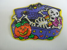 HALLOWEEN CAKE TOPPER PUMPKIN SKELETON PARTY BAKERY SUPPLIES HOLIDAY PARTY NEW