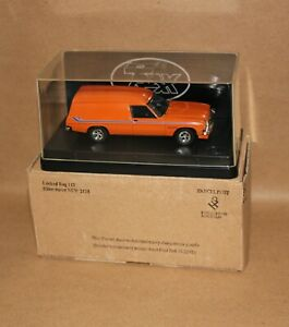 1/43 Trax TR23D Holden HZ Sandman Panel Van Valencia Orange