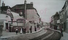 PRINT 10 X 7  LONDON ROAD NEWBURY BERKSHIRE  c1905
