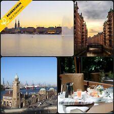 4Tage 2P 4★ Hotel Hamburg Wochenende Kurzurlaub Hotelgutschein Städtereisen City
