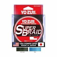 Yo Zuri Super Braid 300 yd Braided Line (Blue/Green, 10, 15, 20, 30, 40, 50lb)