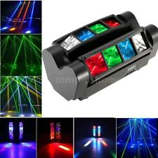 120W 8LED Moving Head Light DMX-512 RGBW Stage DJ Beam Spider Lighting Party
