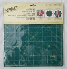 "OLFA, 12""×12"" Rotating Self-healing Rotary cutting Mat"