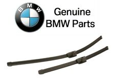 For BMW F10 528i 550i xDrive M5 Front Windshield Wiper Blade Aerotwin Set OES