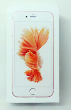 EMPTY RETAIL BOX Apple iphone 6s Mobile Phone Rose Gold 32GB MN122B/A Genuine