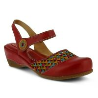 L'Artiste by Spring Step Women's Amour-Rd Wedge Sandal 35 / US 5