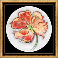 Lowell Blair Nesbitt Original Colored Pencil Drawing Signed Flower Painting Art