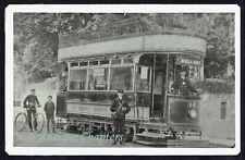 More details for c1910 torquay beacon quay electric tram torquay electric tramways co postcard