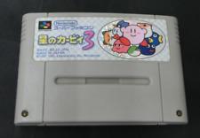 Hoshi no Kirby 3 Nintendo Super Famicom japan