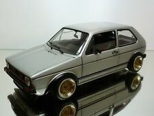 NOREV VW VOLKSWAGEN GTI MK 1 - SILVER 1:18 - GOOD CONDITION