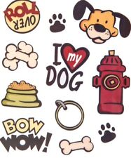 I Love My Dog Scrapbook Stickers