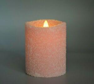 "Hoogalife 1st Gen Flameless Candle,Real Wax,3-D Moving Wick, Sea Salt Set(5""+7"")"