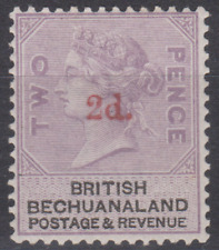 Bechuanaland 1888 Mint Mounted 2d on 2d Pale Dull Lilac SG23A Cat £150