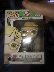 Kate McKinnon Signed Ghostbuster Jillian Holtzman Funkopop
