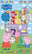 PEPPA Pig Sticker Paradise attività per bambini regalo Stocking Filler